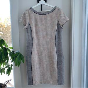 Ann Taylor Short Sleeve Midi Dress Size 10